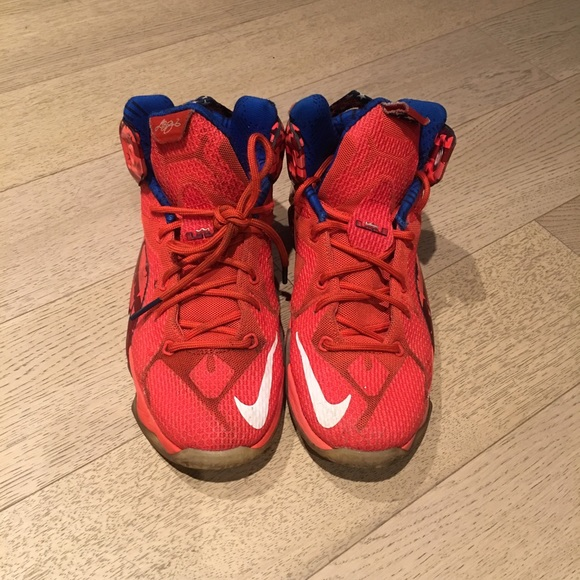 Nike Shoes | Nike Lebron James Red With